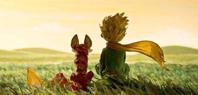 Immagine della Volpe e del Piccolo Principe