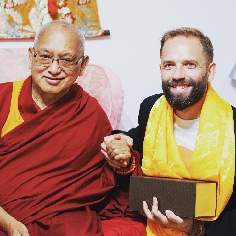 Lama Zopa Rinpoche e Angelo Vaira