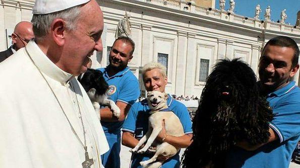 Il Papa e la delegazione della FISC