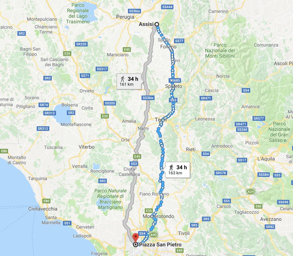 Assisi Roma