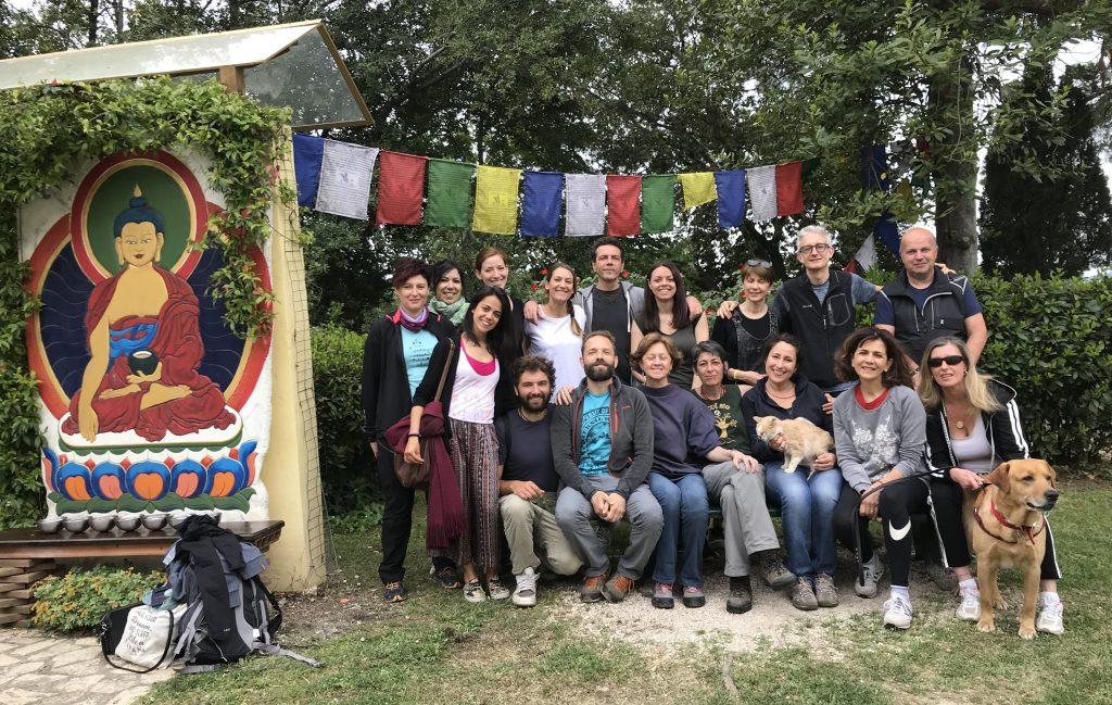Ritiro Animalness - Istituto Lama Tzong Khapa - aprile 2018