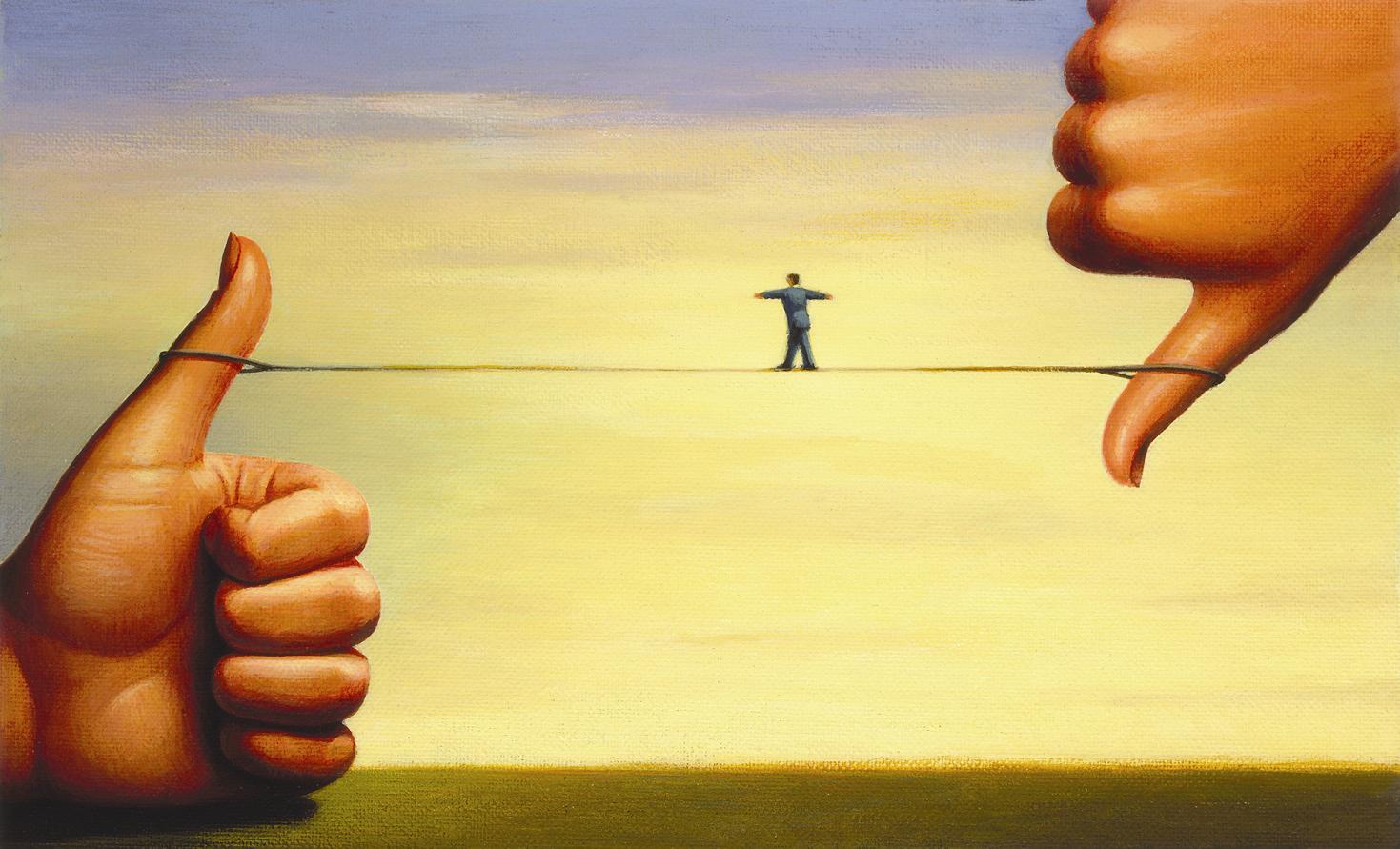 Come un abisso su una corda tesa