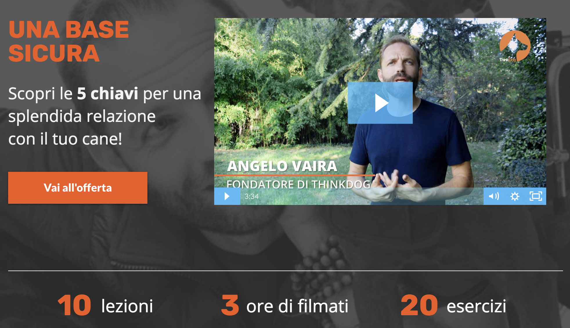 Video Corso Angelo Vaira Una Base Sicura