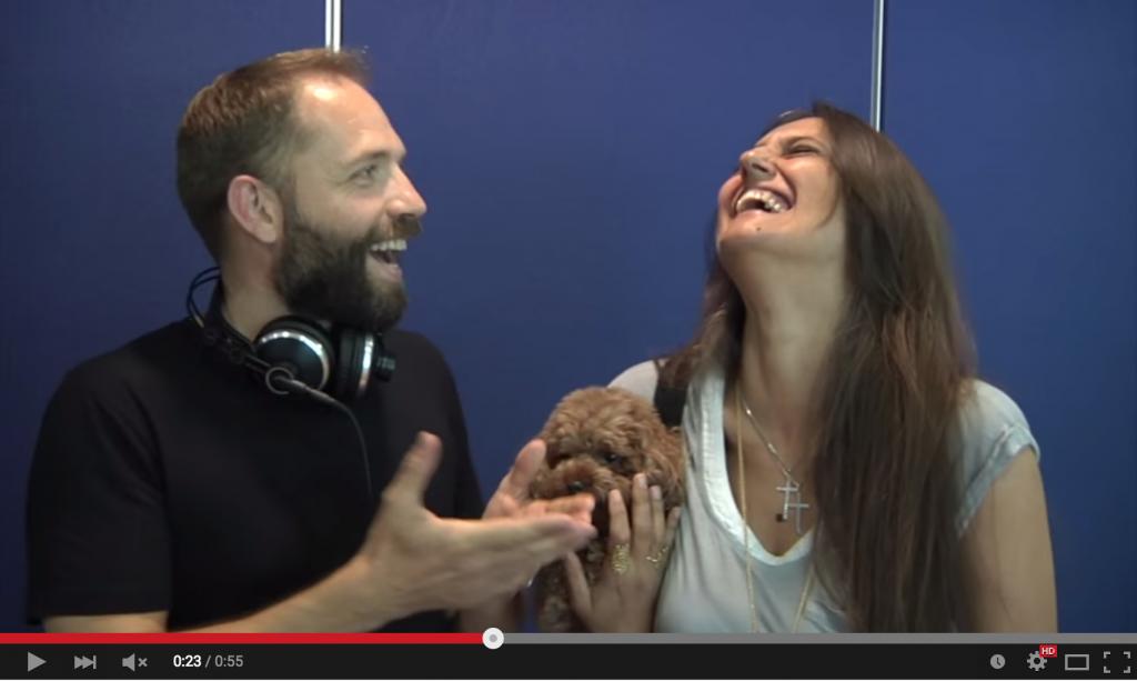Angelo Vaira e Rosita Celentano a Radio 24